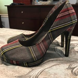 Fioni plaid pumps !